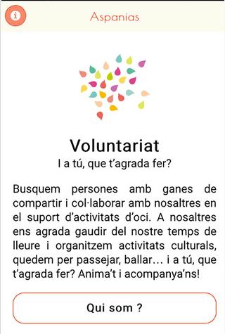 App Voluntariat-Aspanias